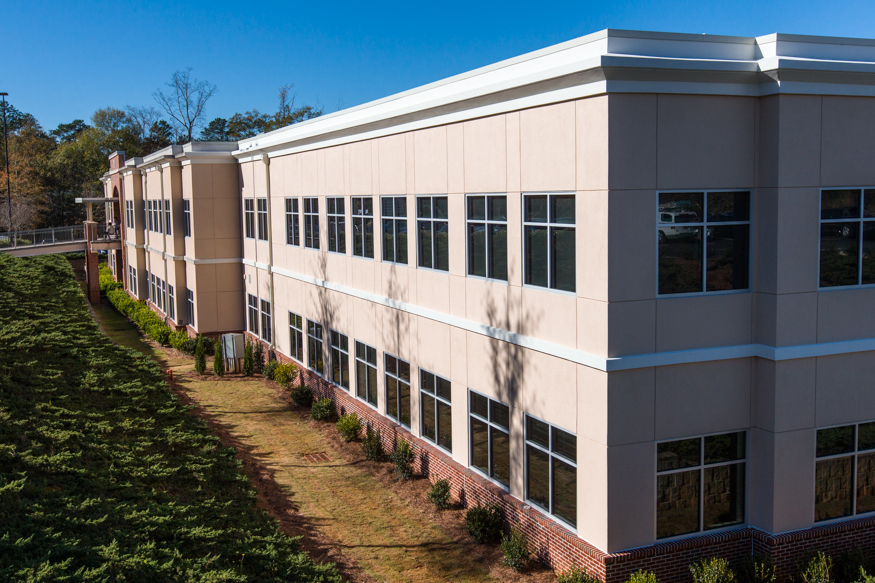 Conyers Medical Office Building-Exterior2-Office Building Construction-Benning-Construction-Company