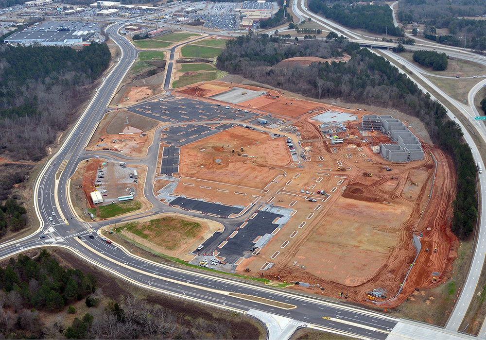 Epps-Bridge-Aerial-Progress-Retail-Benning-Construction-Company