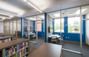 Gordon-College-Library-interior2-Education Construction-Construction-Benning-Construction-Company