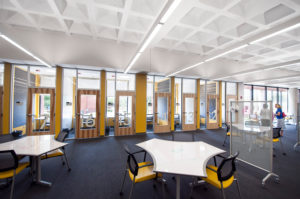 Gordon-College-Library-interior3-Education Construction-Construction-Benning-Construction-Company