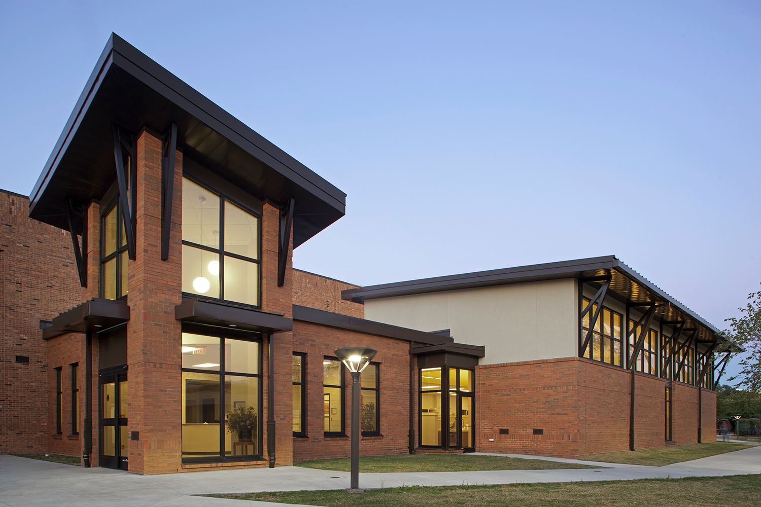 Savannah-Tech-Dental-Lab-Education Construction-Exterior-Benning-Construction-Company